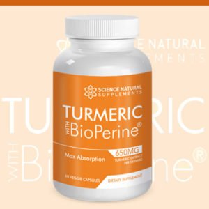 Turmeric 1 btl cont 300x300 - Turmeric W/ Bioperine: Purchase 1 Bottle Get three Bottles Free!